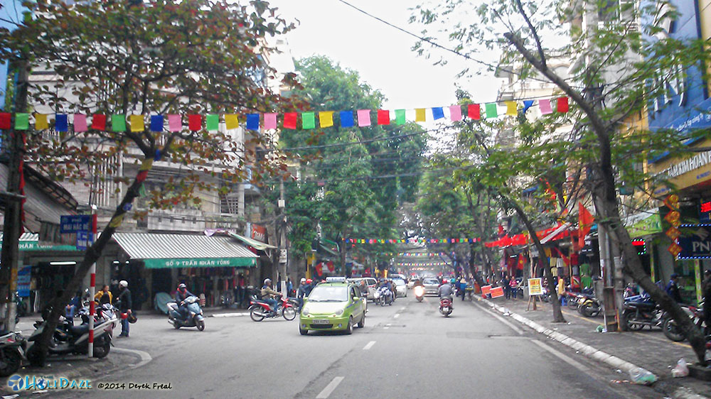 Just A Random Street In Hanoi, Vietnam