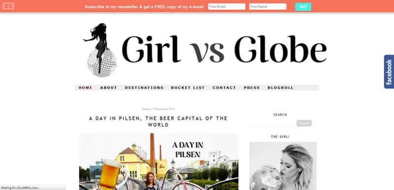 Girl Vs Globe