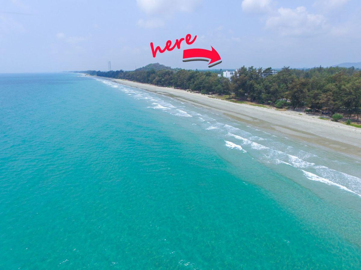 Deserted Thai beach aka Derek Freal's home