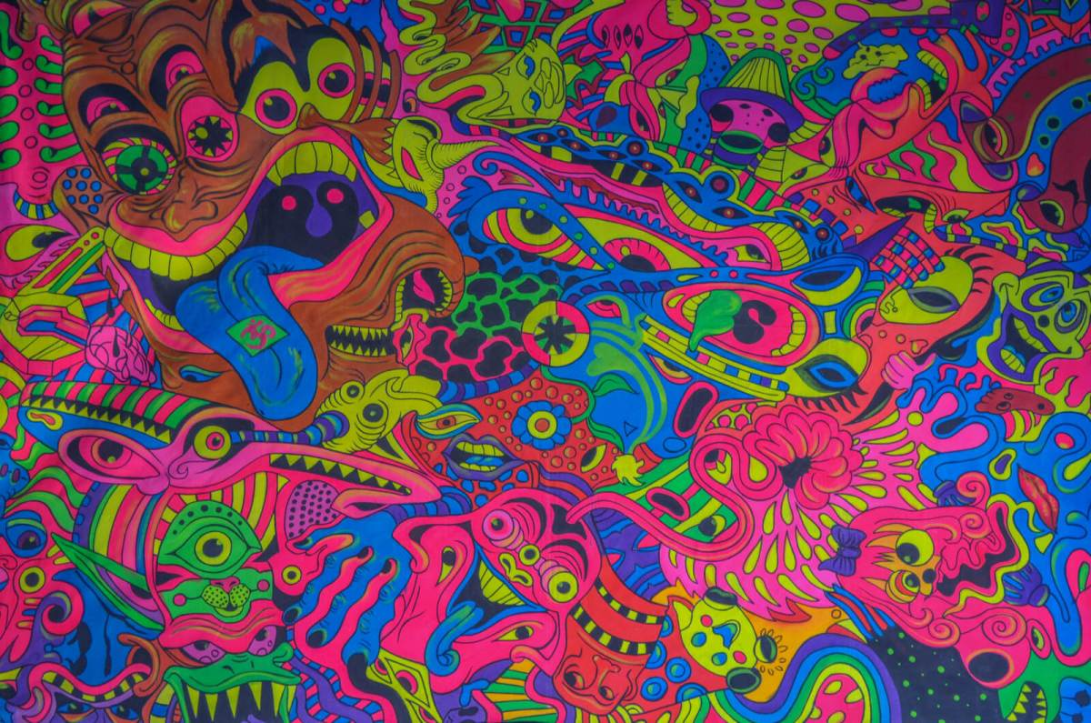 Pushkar Psychedelic Art