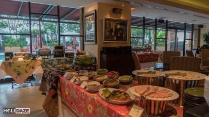 Buffet Breakfast at Ascott Sathorn in Bangkok