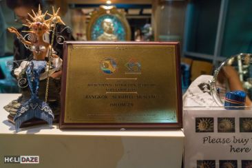 "Bangkok Seashell Museum won the Thailand Recreational Attraction Standard Award for ""Very Good Level"""