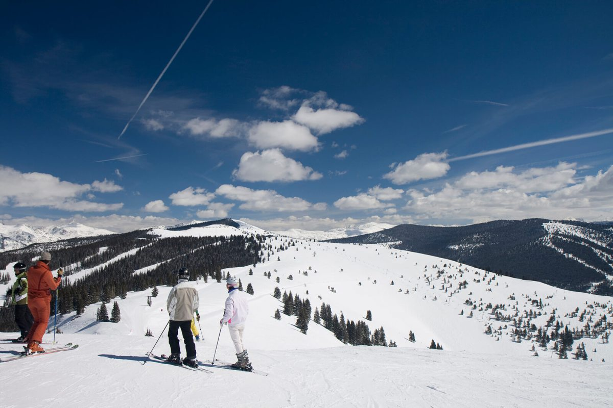 Skiing in Vail, Colorado is some of the best in the world!