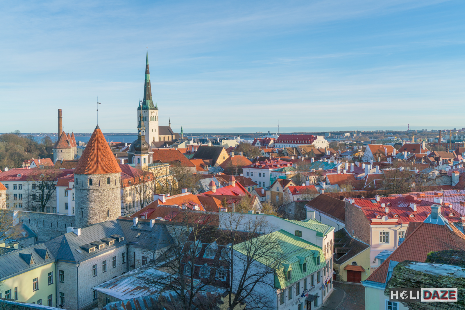 Look at that beautiful Tallinn skyline