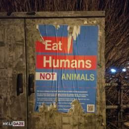 Eat Humans Not Animals