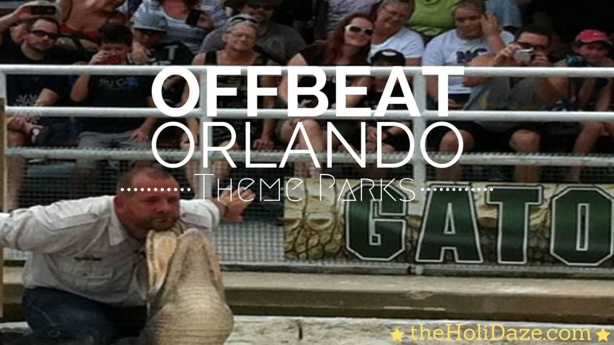 Unique & Offbeat Orlando Theme Parks