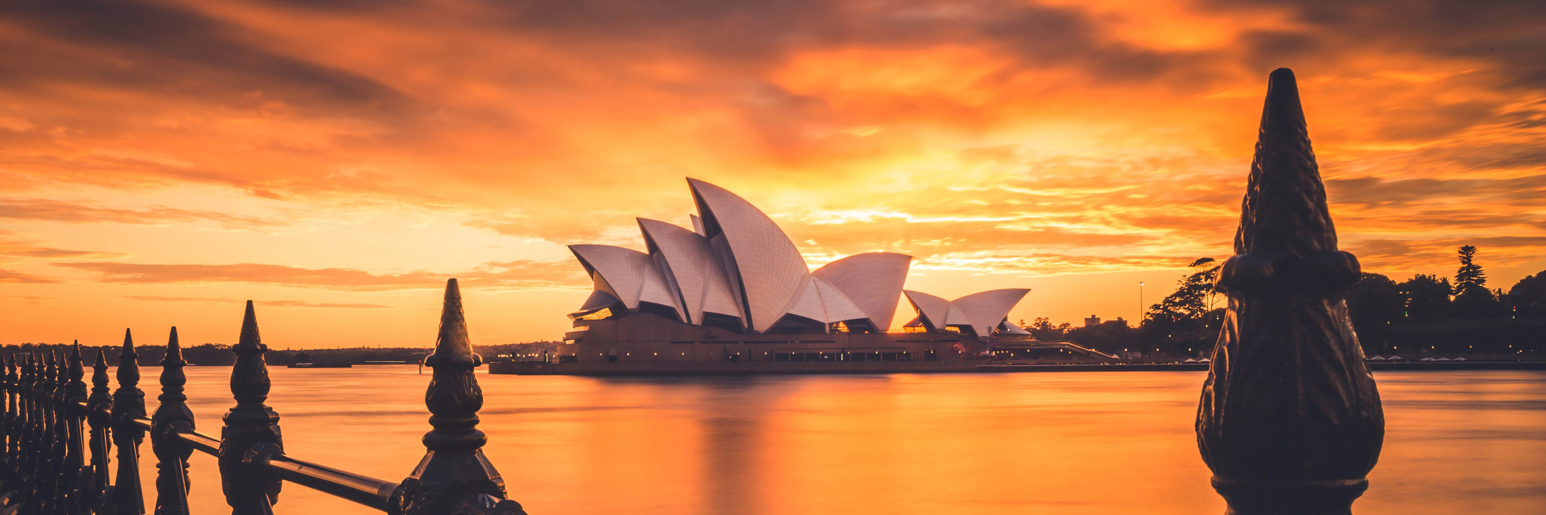 Sunrise at Circular Quay, Sydney, Australia