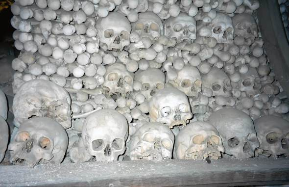 The Lovely Bones of Sedlec Ossuary in Kutna Hora