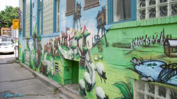 Graffiti Alley, Toronto, Canada
