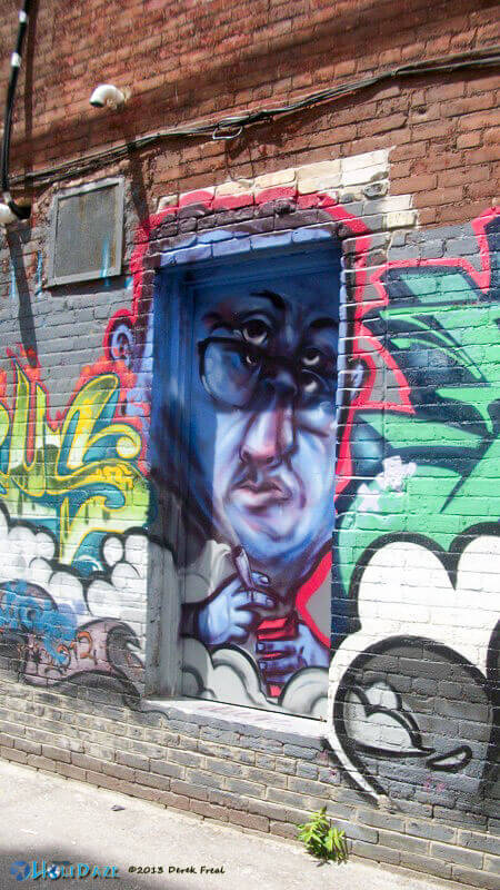 Graffiti Alley, Toronto, Canada