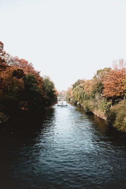 Lanwehr Canal, Berlin, Germany