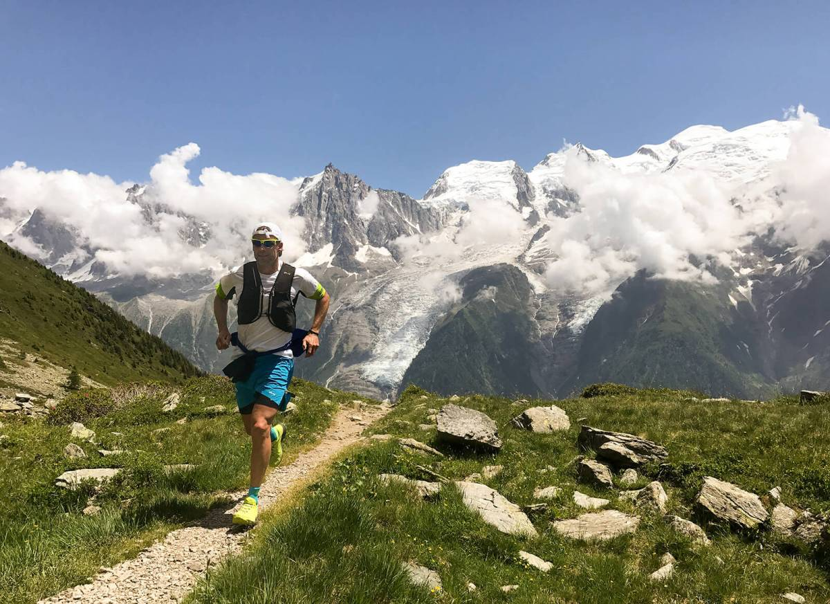 Mountain Jogging in Chamonix, France