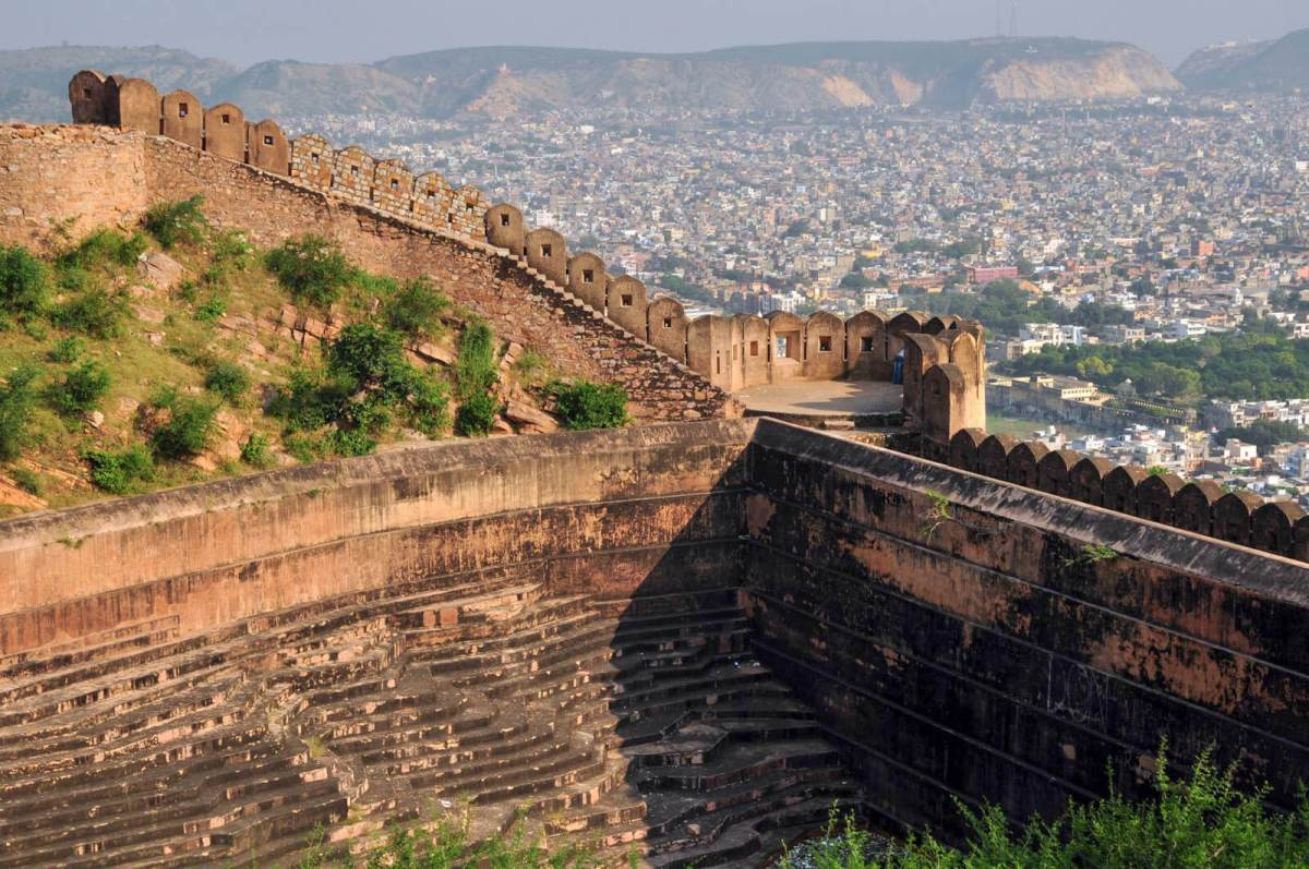 Nahargarh Fort in Jaipur, India