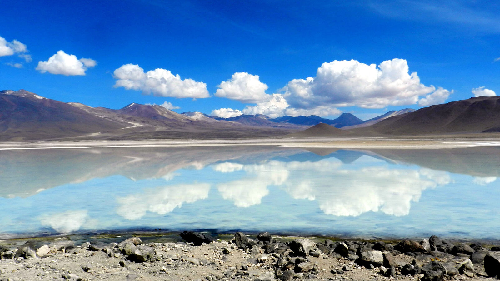 Salar de Uyuni in Bolivia is the world's largest salt flat