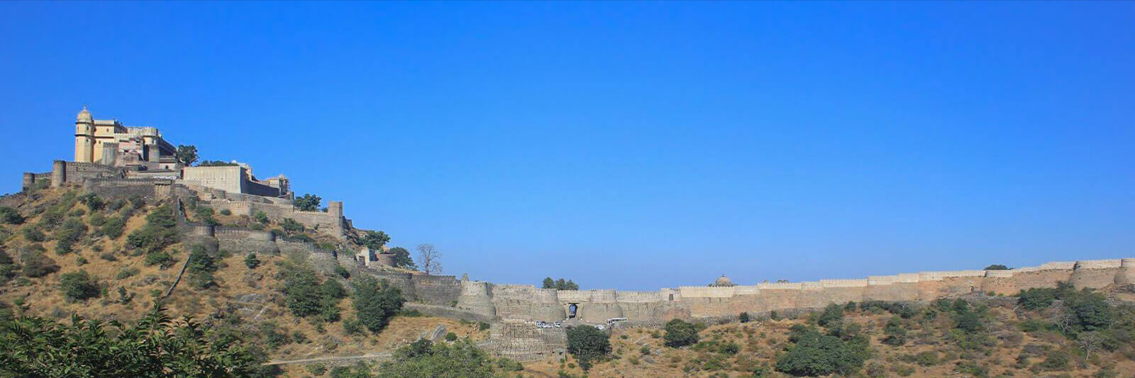 Kumbhalgarh Fort in Rajasthan, India