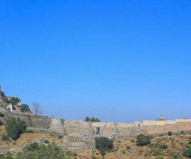 Kumbhalgarh Fort And The Great Wall Of India