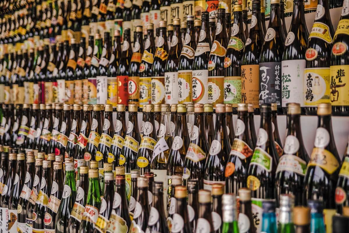 Sake in Tokyo, Japan