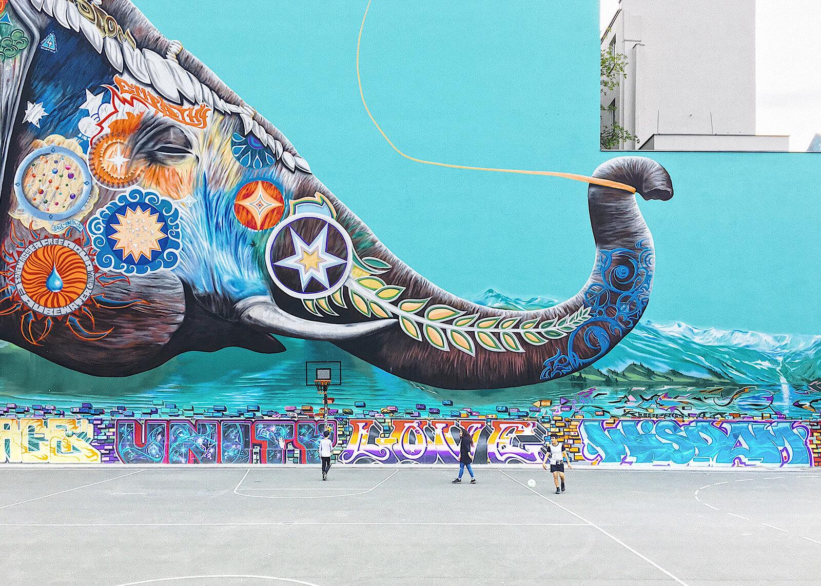 Street art in Kreuzberg, Berlin, Germany