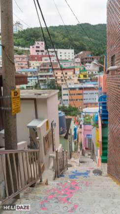 Stairs To See Stars at Gamcheon Culture Village in Busan, South Korea