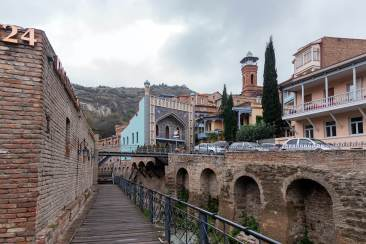 Exploring Tbilisi Old Town