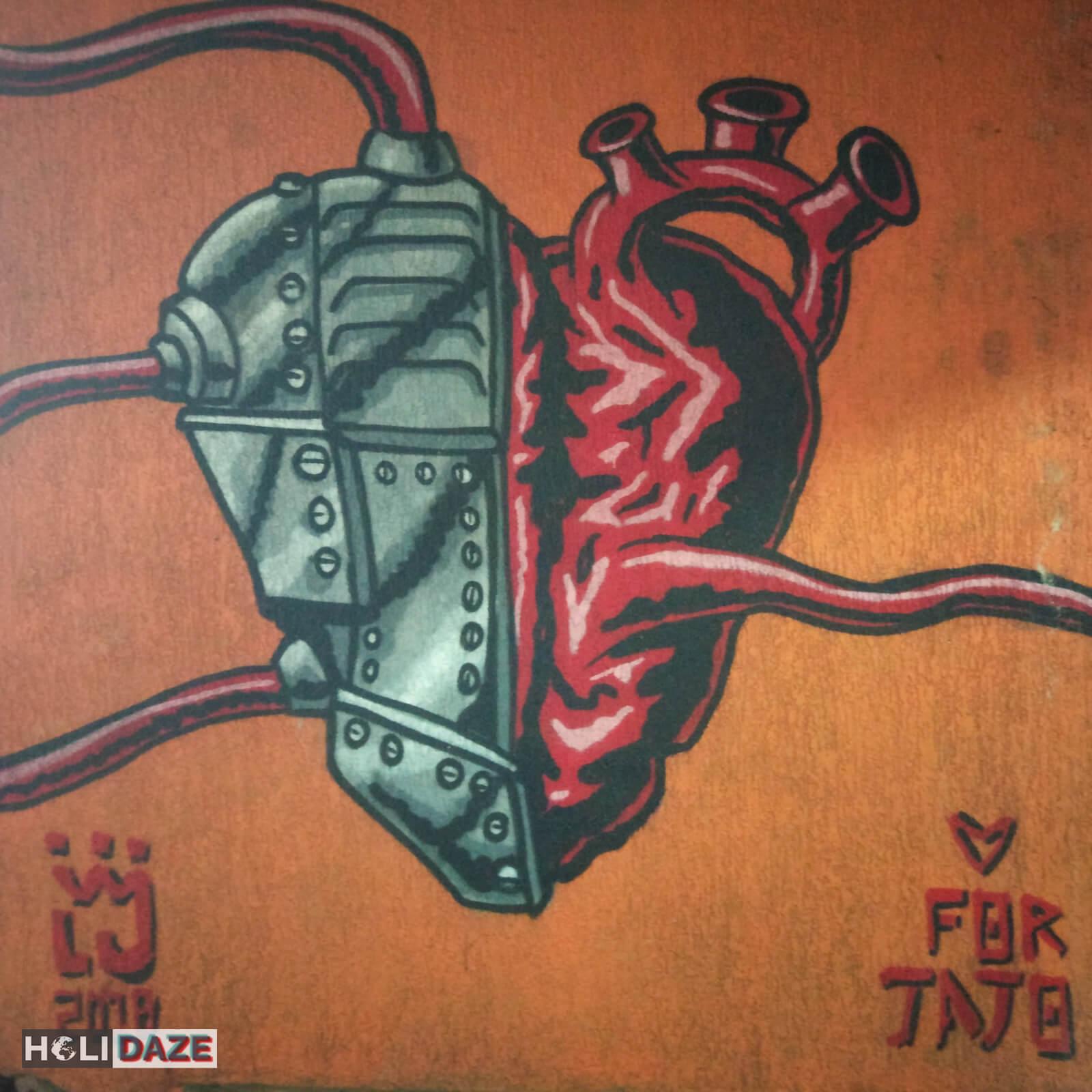 Tbilisi street art heart