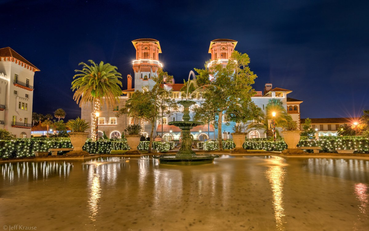 The Lightner Museum in St Augustine, Florida, was originally the Alcazar Hotel