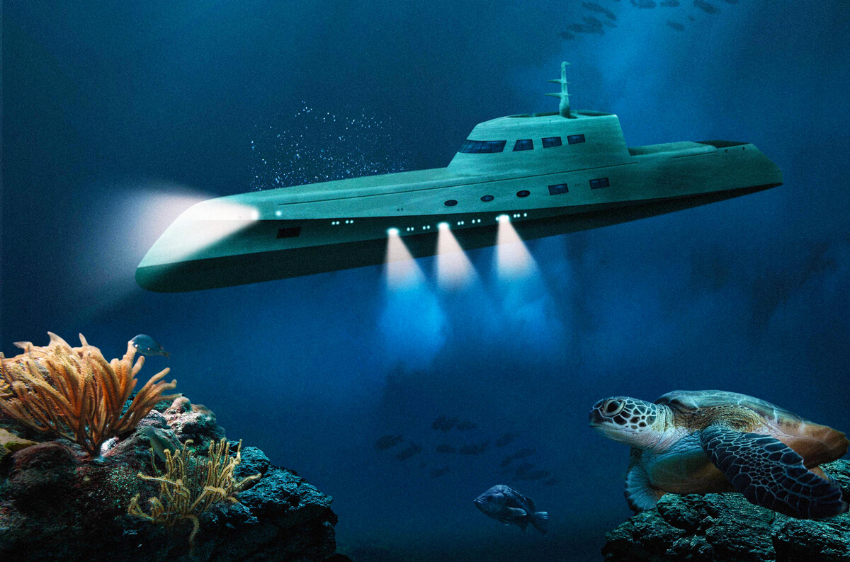 Lover's Deep Submarine