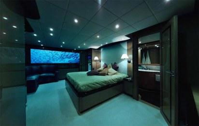 Lover's Deep Submarine Bedroom