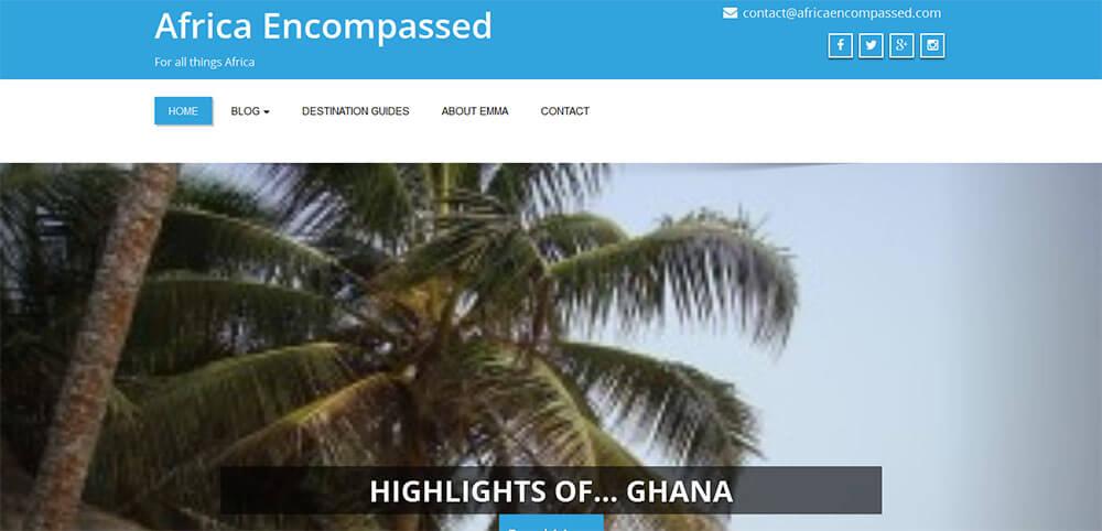 Best New Travel Blog 2015 - Africa Encompassed