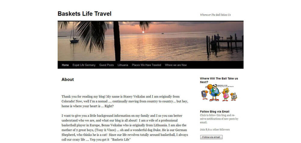 Best New Travel Blogs of May 2014: Basket Life Travel