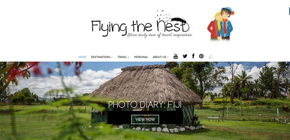 Best New Travel Blog 2015 - Flying The Nest