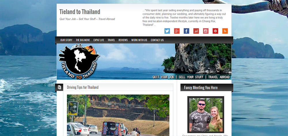 Best New Travel Blogs: Tieland To Thailand