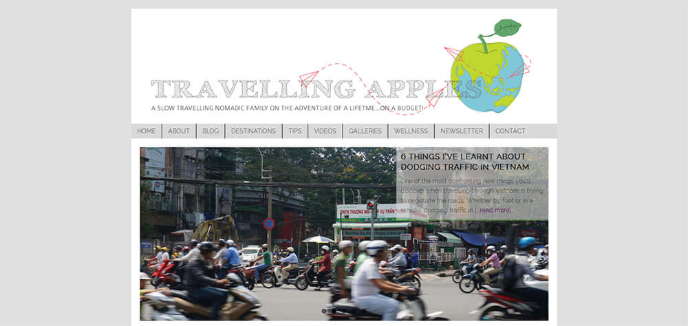 Best New Travel Blogs: Travelling Apples