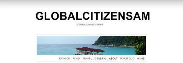 Travel Blogger Interviews: Global Citizen Sam