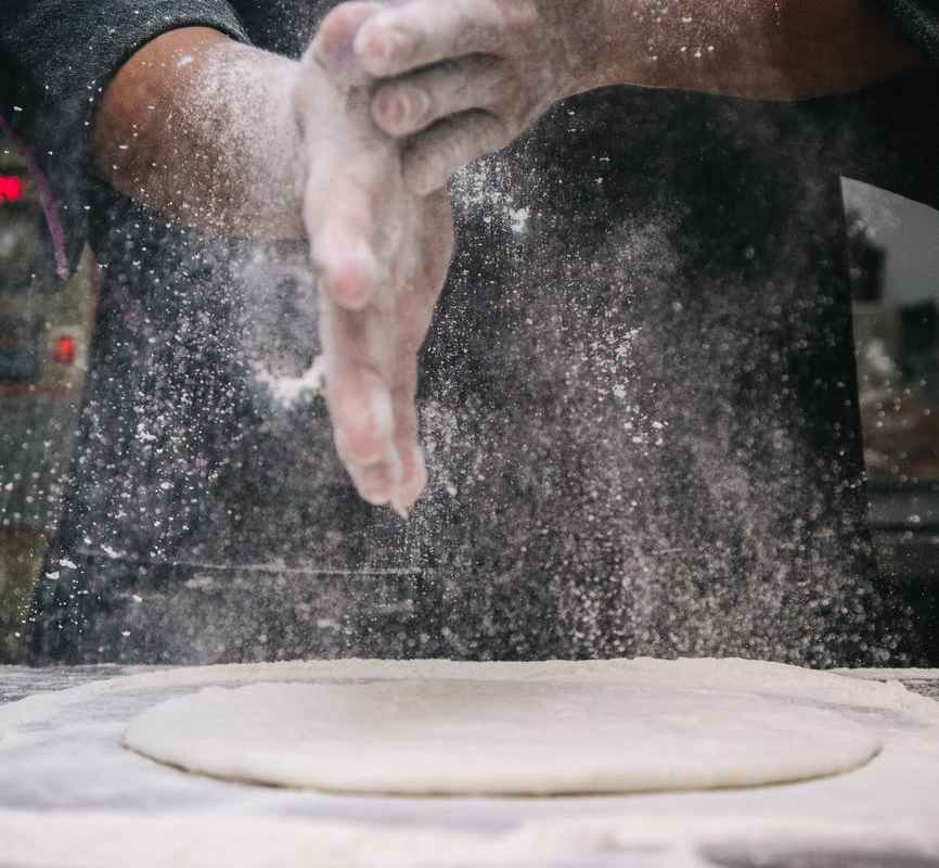 baked baking chef dough