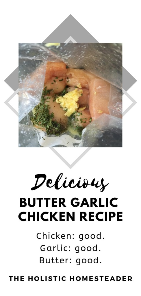 Butter Garlic Chicken Recipe