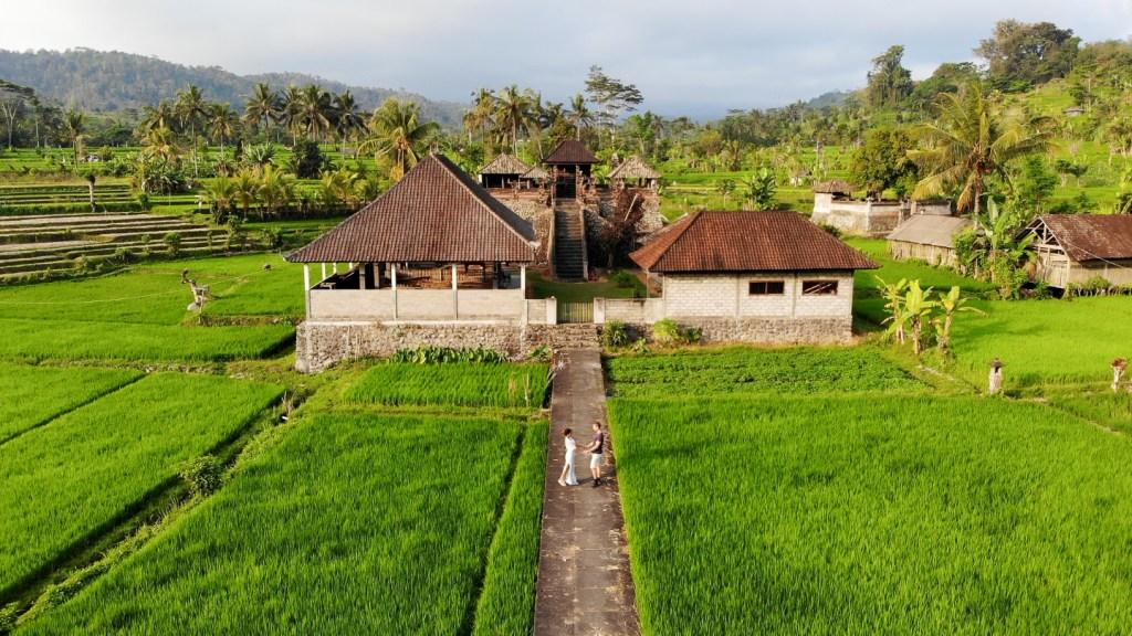 Sidemen village bali