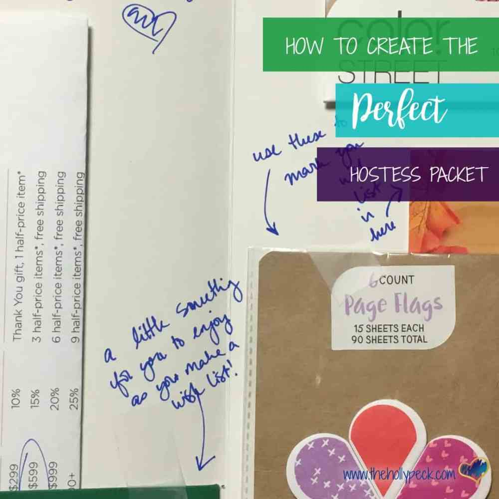 How to Create the Perfect Hostess Packet