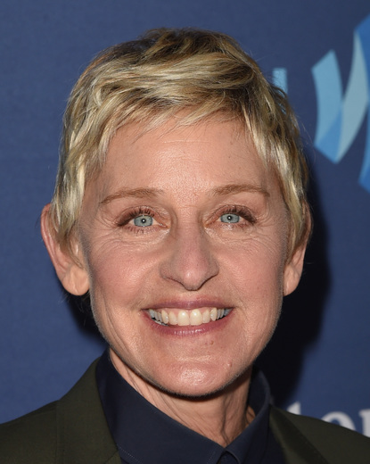 BEVERLY HILLS, CA - MARCH 21: TV personality Ellen DeGeneres attends the 26th Annual GLAAD Media Awards at The Beverly Hilton Hotel on March 21, 2015 in Beverly Hills, California. (Photo by Jason Merritt/Getty Images for GLAAD)