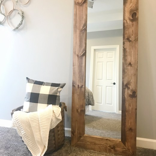 How To Build Wooden Mirror Frame