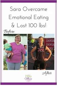 Sara Lost 100 lbs - before and after weight loss