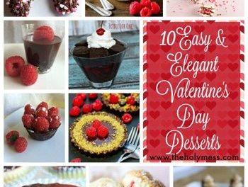 10 Easy and Elegant Valentine's Day Desserts