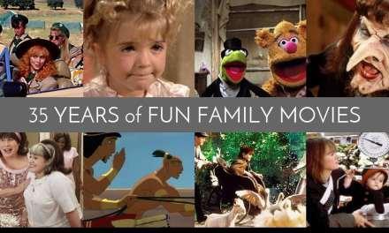 35 Years of Fun Family Movies: 1980-1989