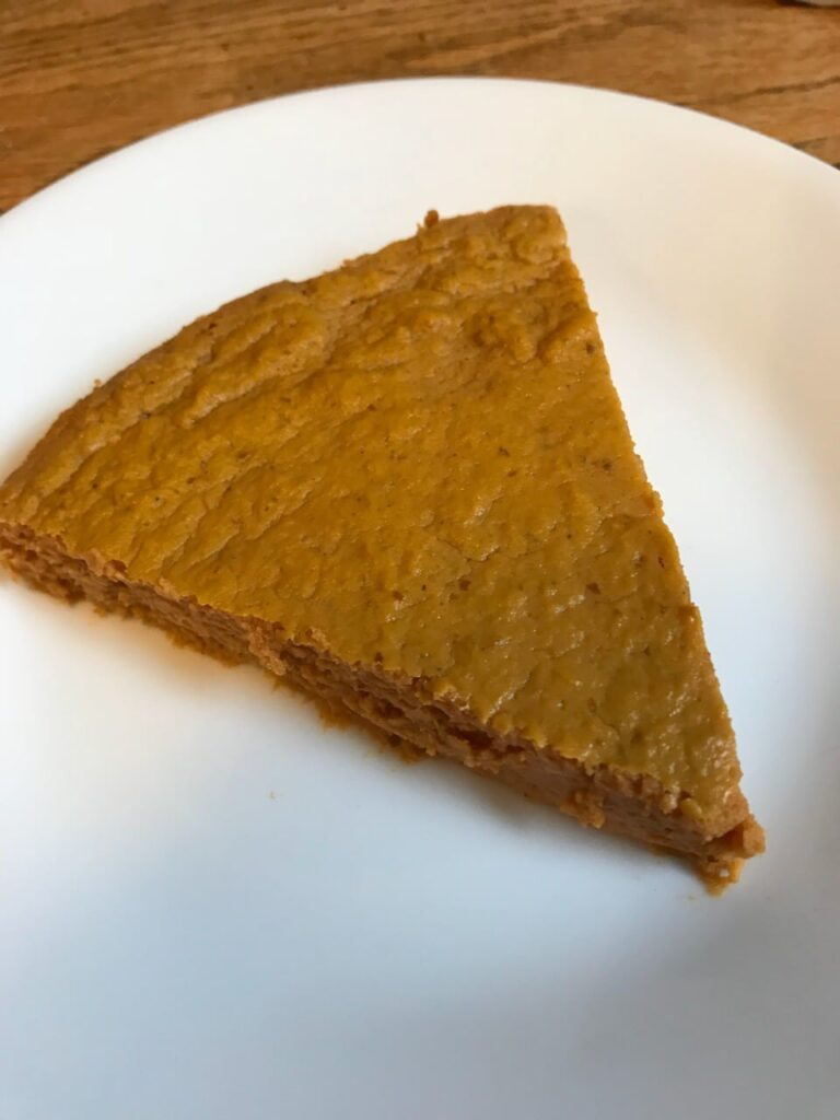 Weight Watchers crustless pie
