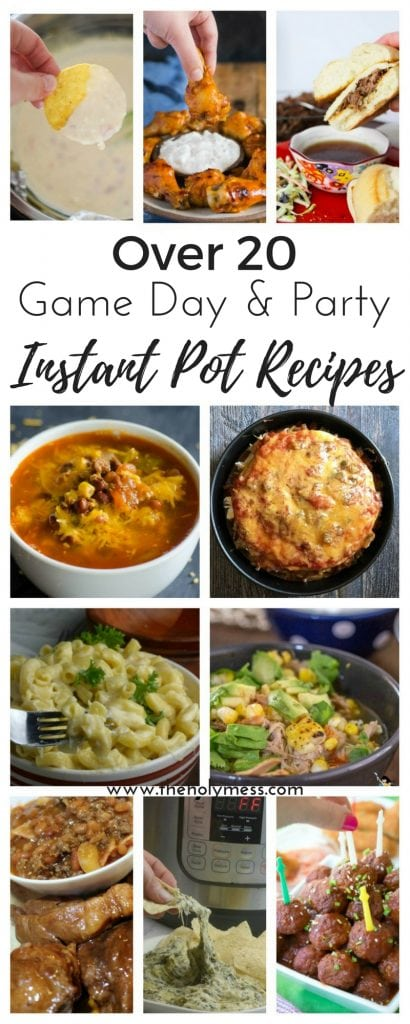 Game Day and Party Instant Pot Recipes