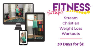 Faithful Fitness - Christian Weight Loss Workouts for women