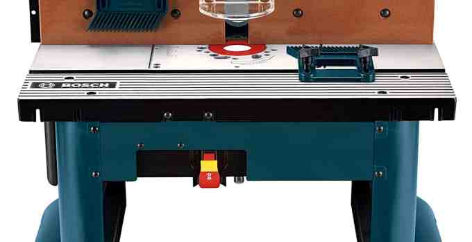 Bosch RA1181 Router Table Review
