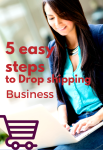 5 easy steps to Running a Drop shipping Business