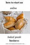 How to Start an Online Baked Goods Business