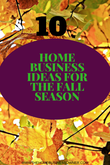 Home Business Ideas in Fall season/Autumn
